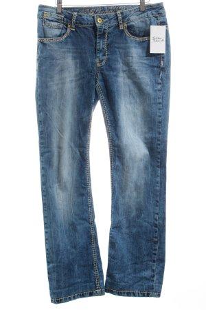 "Soccx Boot Cut Jeans ""Colette"" blau"
