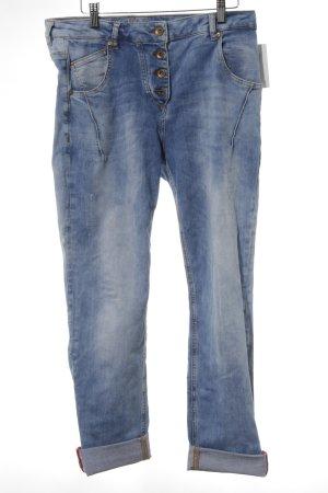 Soccx Boyfriendjeans blau Casual-Look