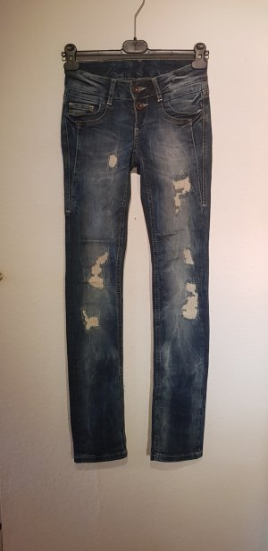 Soxxc Low Rise jeans blauw