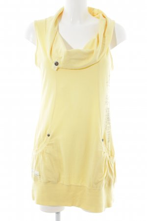 Soccx Cargo Dress yellow casual look