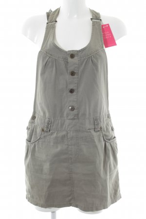 Soccx Cargo Dress grey brown casual look