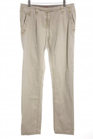 Soccx Chinohose beige Casual-Look