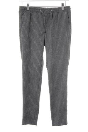 Soccx Pantalone chino grigio-bianco gessato stile casual