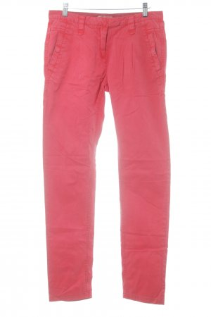 Soccx Chinohose rot Casual-Look
