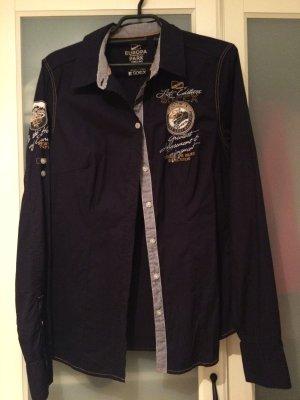 Soccx Damen Bluse dunkelblau / Marine