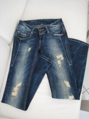 """Soccx Destroyed Jeans """"Kathrin"""", W26, L32, Gr. 34/36"""