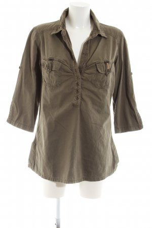 Soccx Hemd-Bluse bronzefarben Casual-Look