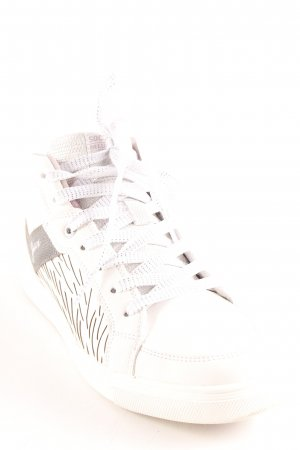 Soccx High Top Sneaker Inside-Out-Druck Casual-Look