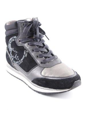 Soccx High Top Sneaker Motivdruck Casual-Look