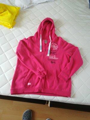 SOCCX Hoodie Jacke in pink