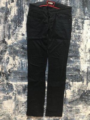 Soccx Pantalón de tubo negro