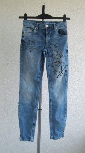 Soccx Jeans Aufdruck SDU-9999-1896 Size:26 Gr.34/36