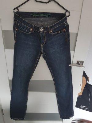 Soccx Stretch Jeans dark blue