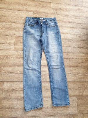 Soccx Jeans mit Stretch in hellblau Gr. 38