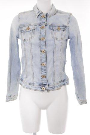 Soccx Jeansjacke babyblau 80ies-Stil