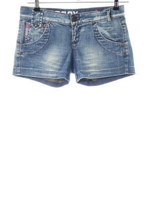 Soccx Jeansshorts blau Casual-Look