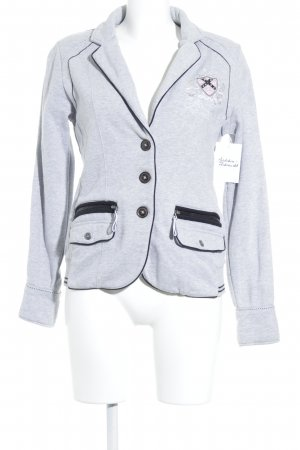 Soccx Jerseyblazer grau sportlicher Stil