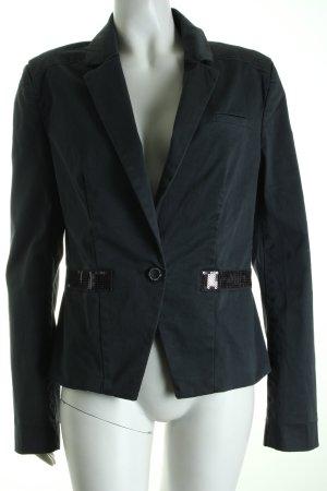Soccx Kurz-Blazer grau Eleganz-Look
