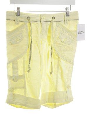 Soccx Kurze Hose blassgelb sportlicher Stil