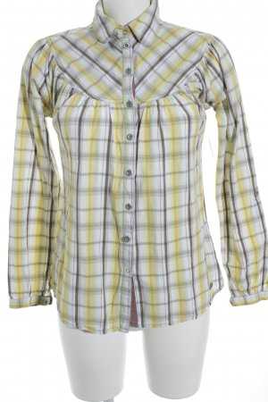 Soccx Langarm-Bluse Streifenmuster Casual-Look