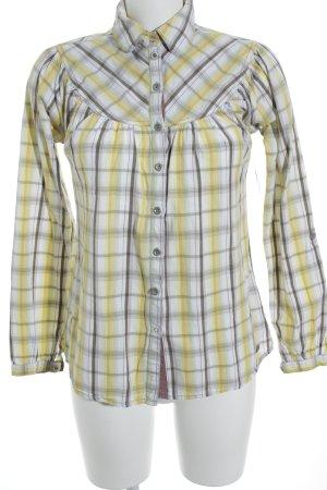 Soccx Langarm-Bluse Streifenmuster Casual-Look