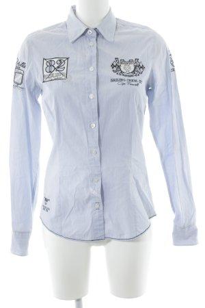 Soccx Langarmhemd Streifenmuster Casual-Look