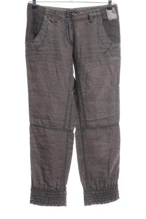 Soccx Linen Pants brown casual look