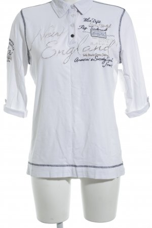 Soccx Long Shirt embroidered lettering casual look