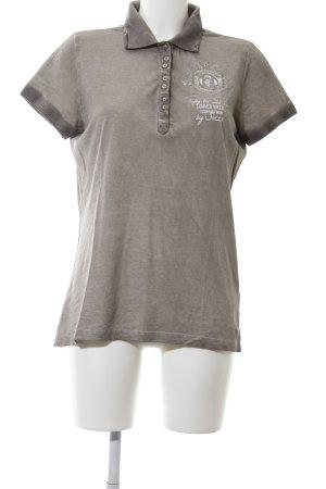 Soccx Polo-Shirt bronzefarben meliert Casual-Look