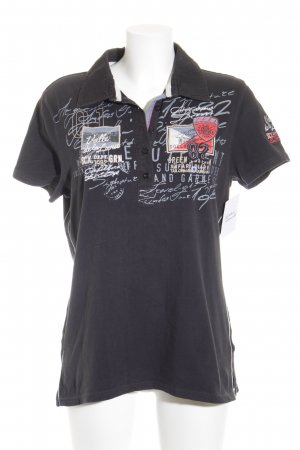 Soccx Polo-Shirt dunkelblau sportlicher Stil