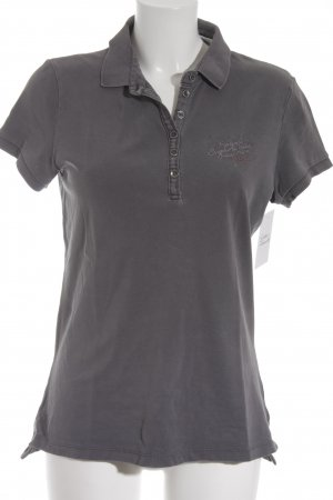 Soccx Polo-Shirt dunkelgrau Casual-Look