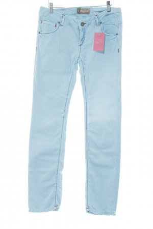 Soccx Tube jeans lichtblauw Jeans-look