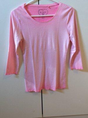 Soccx Camisa acanalada rosa-rosa neón