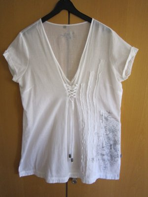 """Soccx"" Shirt/Bluse Serie ""Capetown South Africa"", XL/42, weiss"