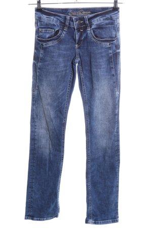 Soccx Skinny Jeans blau Casual-Look