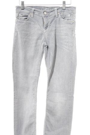 Soccx Skinny Jeans hellgrau Casual-Look