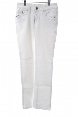 Soccx Skinny Jeans weiß Casual-Look