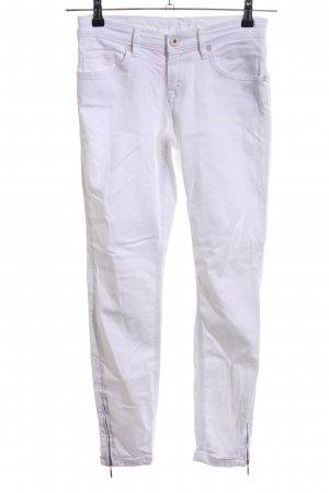 Soccx Slim Jeans weiß Casual-Look