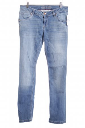 Soccx Slim Jeans blau Casual-Look