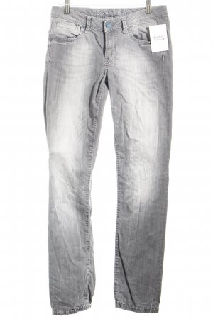 Soccx Slim Jeans grau Casual-Look