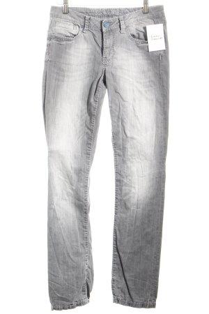 Soccx Slim Jeans grau Casual-Look