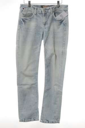Soccx Slim jeans azuur casual uitstraling