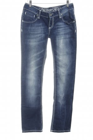 Soccx Slim Jeans stahlblau Casual-Look