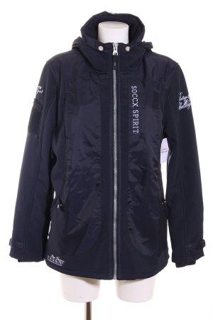 Soccx Softshelljacke dunkelblau sportlicher Stil