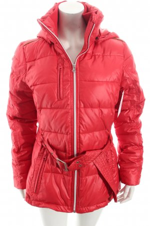 Soccx Steppjacke rot Steppmuster Casual-Look