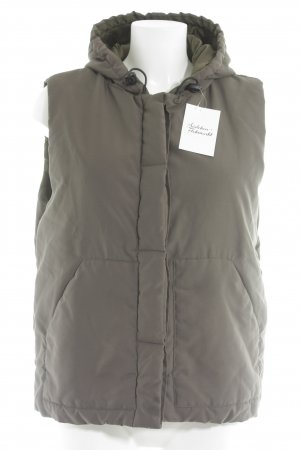 Soccx Quilted Gilet green grey athletic style
