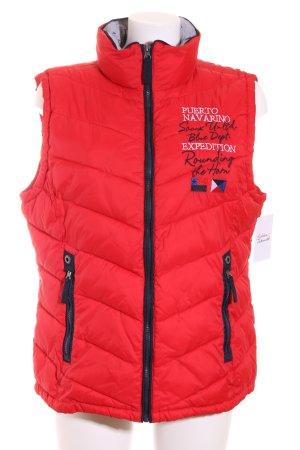 Soccx Steppweste rot sportlicher Stil