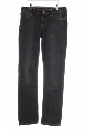Soccx Straight-Leg Jeans anthrazit-beige Casual-Look