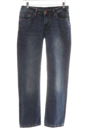 Soccx Straight-Leg Jeans blau Boyfriend-Look