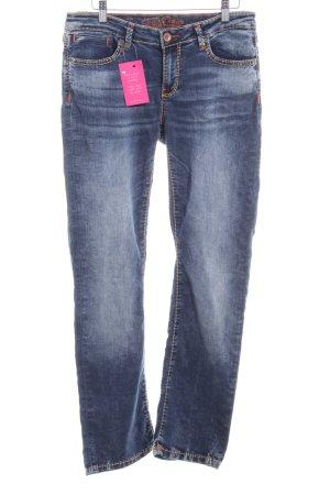 Soccx Straight-Leg Jeans blau Casual-Look